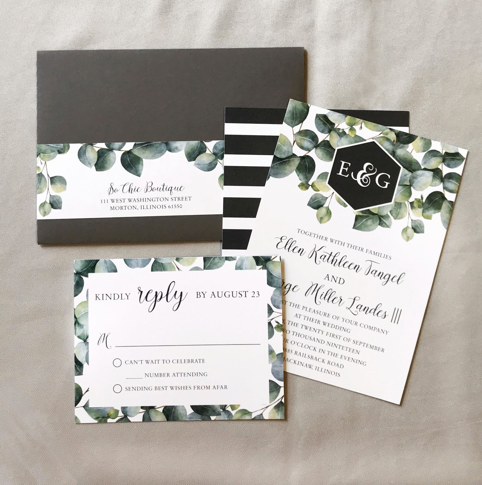 #adoretip | Wedding Invitations - The Do's + Don'ts. Mobile Image