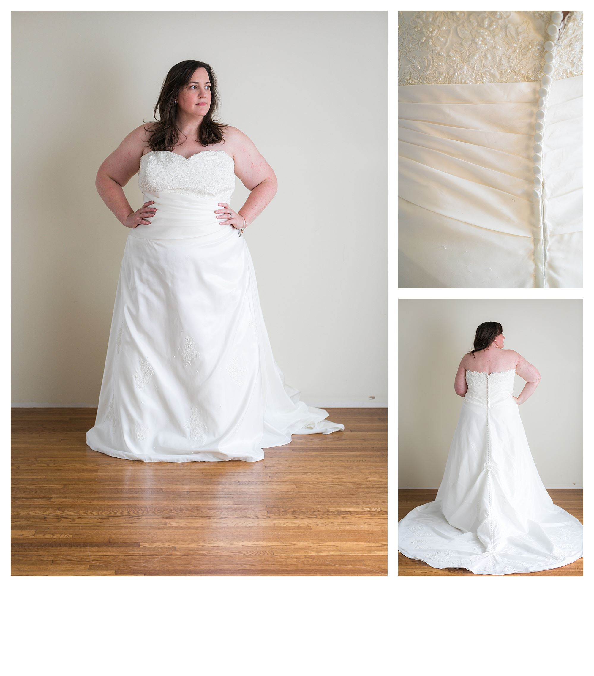 Sabella - Size 26 - Ivory - Originally priced $999 - Sample box price $699