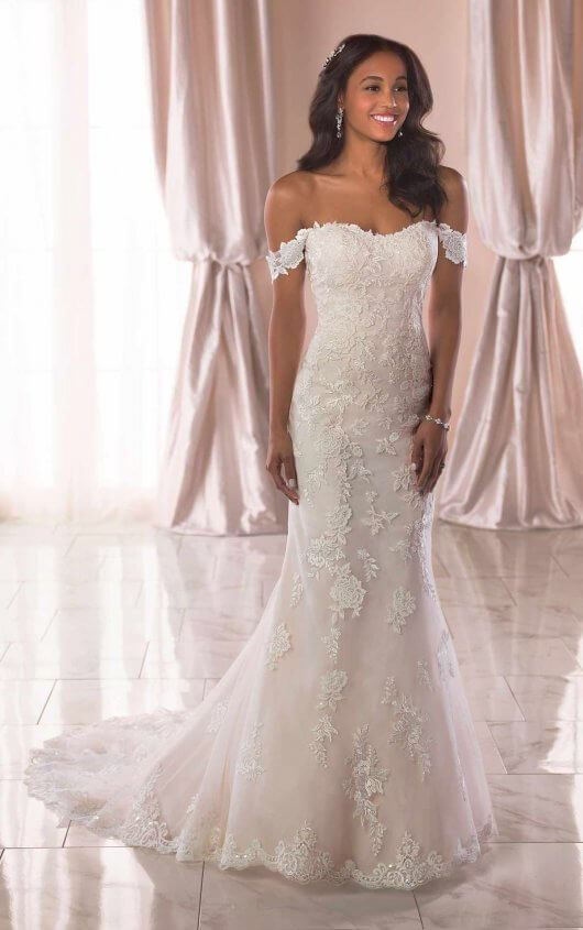Griselda - Size 22 - Ivory/Almond - $1799 - Sample Price $1499