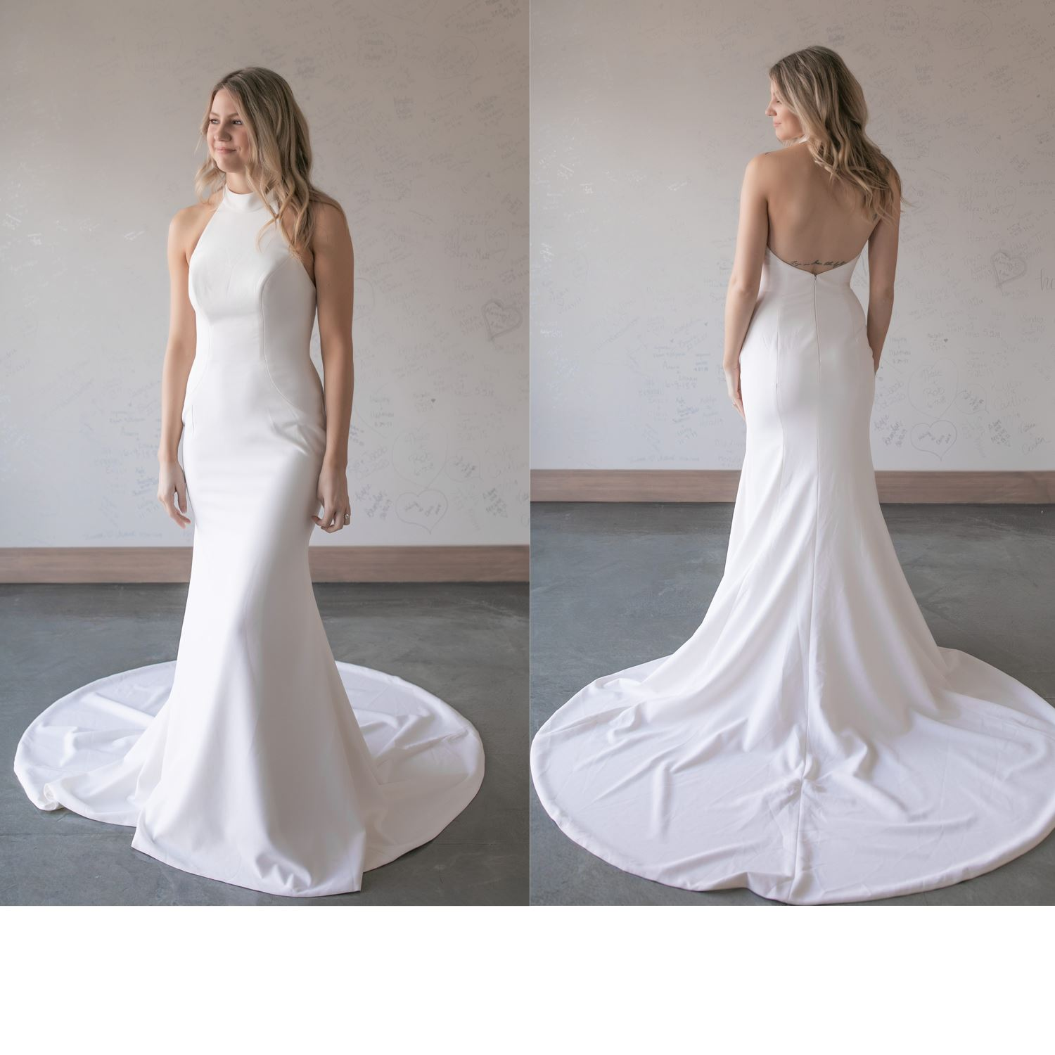 Alexia - Size 8 - Ivory - Originally priced $999 - Sample box price $899
