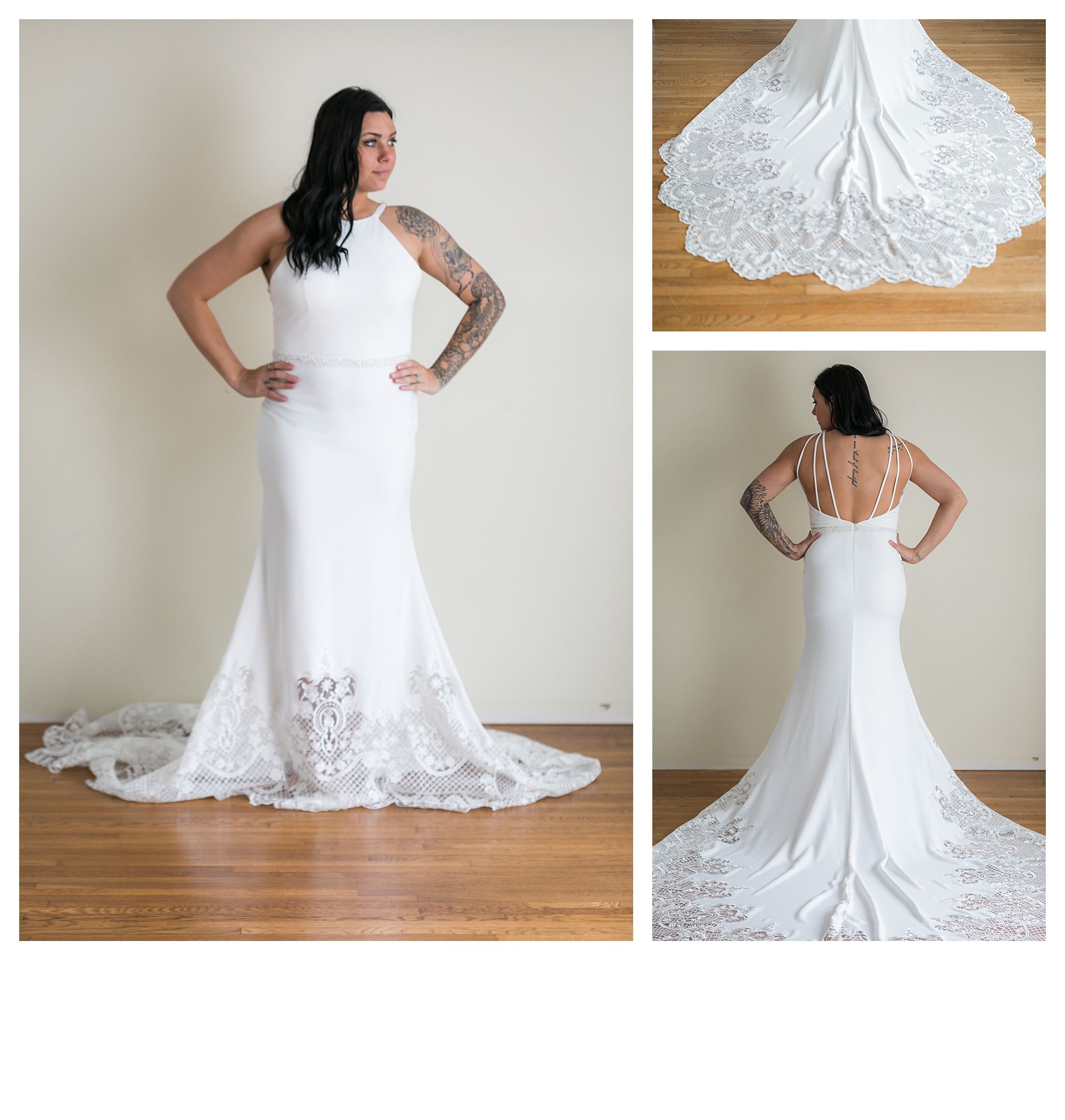 Summer - Size 12 - Ivory - Originally priced $1799 - Sample box price $1199