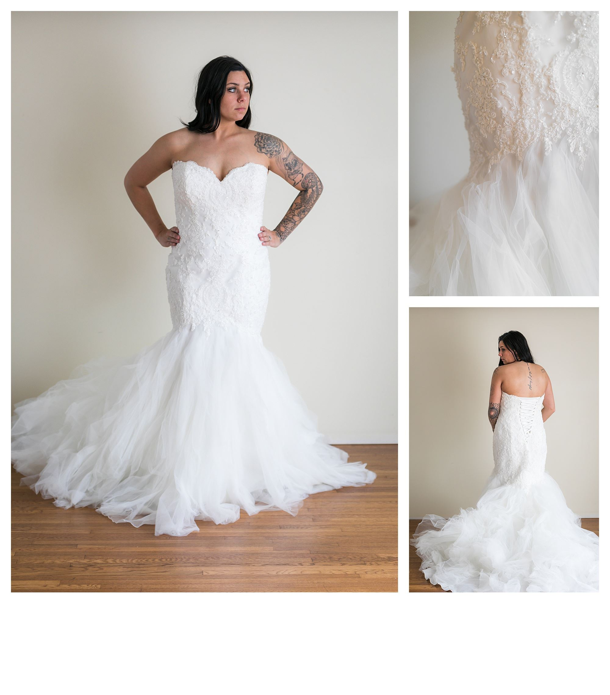 Shayla - Size 18 - Ivory - Originally priced $1799 - Sample box price $1199