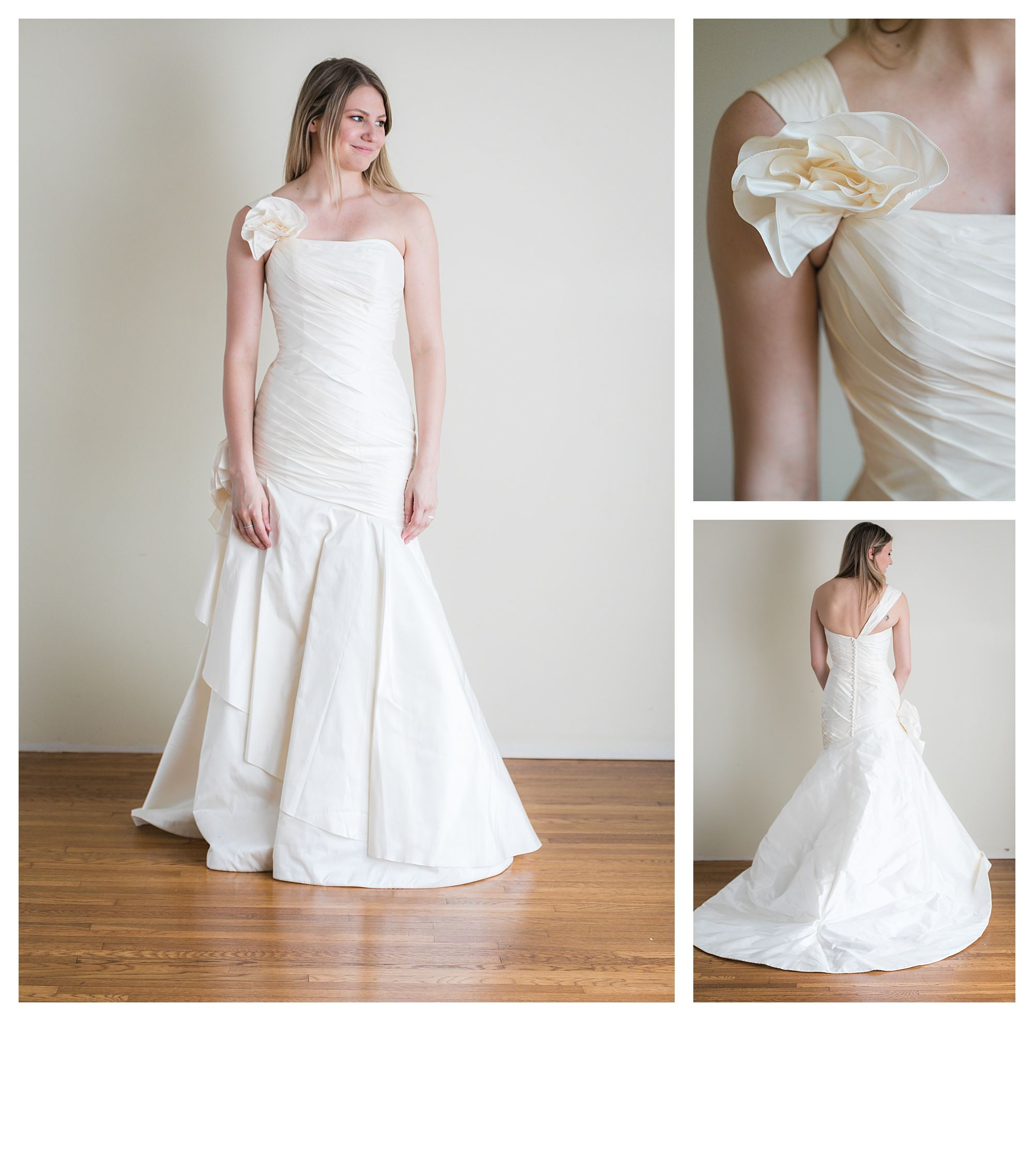 Sunshine - Size 6 - Ivory - Originally priced $999 - Sample box price $699