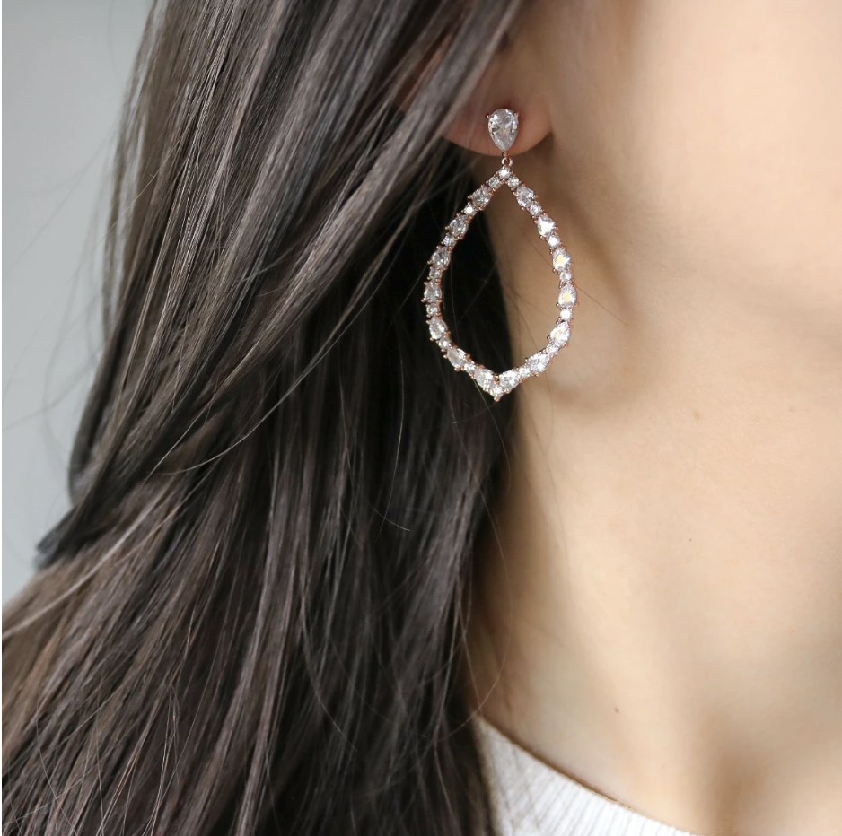 Petales - Available in Rose Gold, Silver, Gold - $53