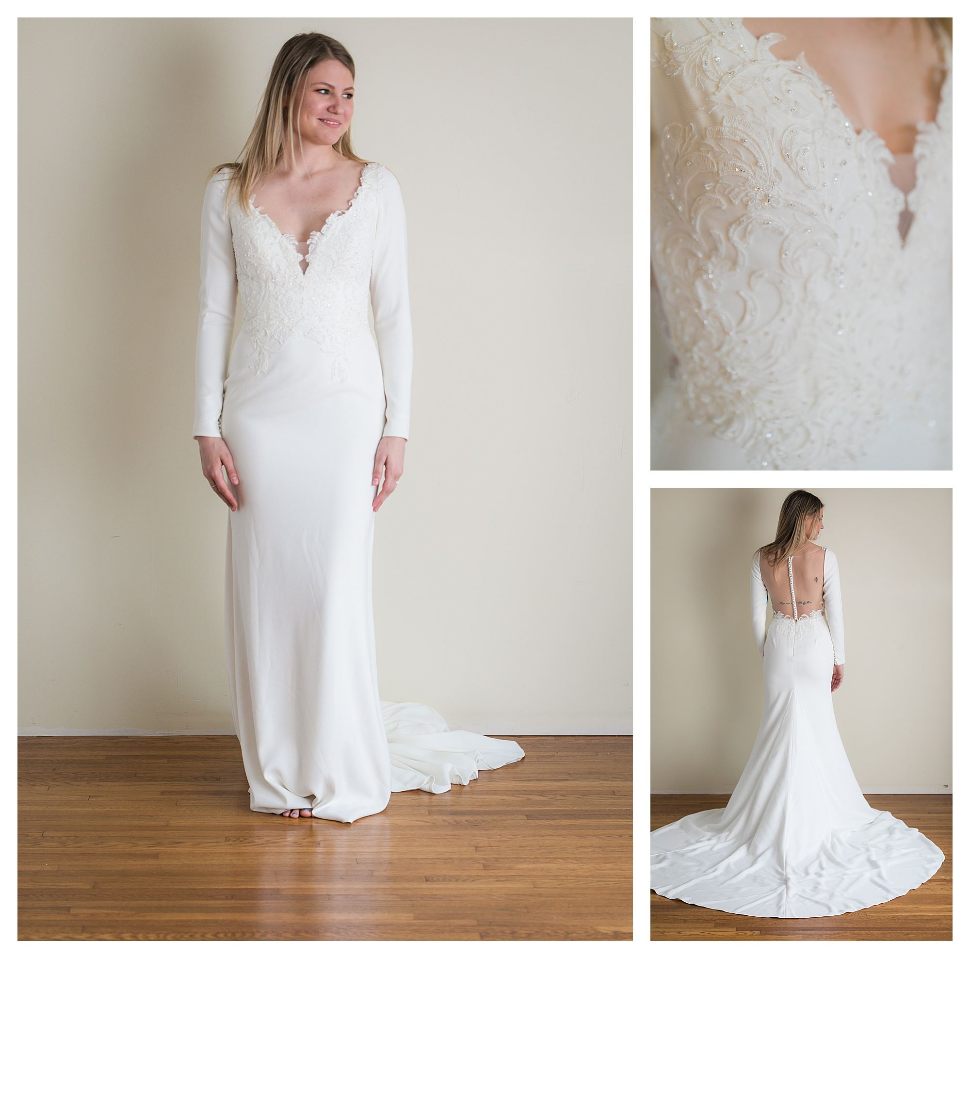 Sailor - Size 8 - Ivory - Originally priced $1399 - Sample box price $999