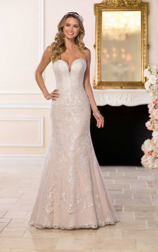 Greer - Size 12 - Ivory/Moscato - $1199 - Sample Price $799
