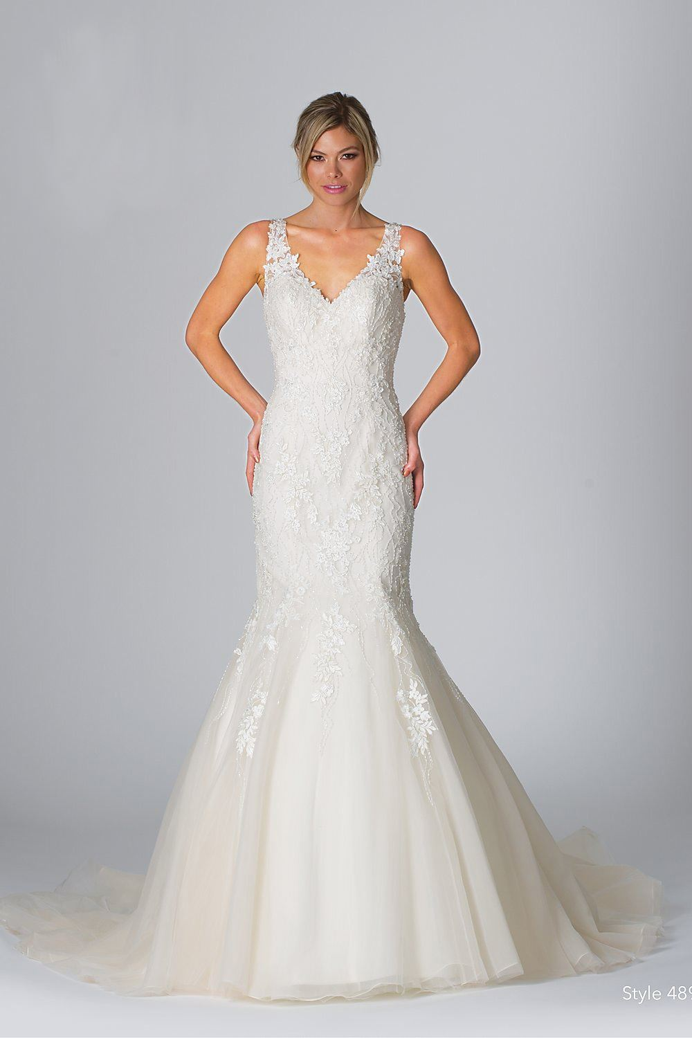 Alexa - Size 14 - Ivory/Light Gold - $1699 - Sample price $799